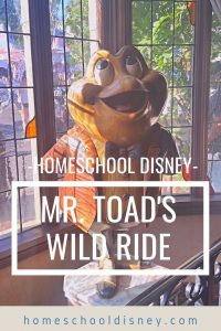 Homeschooling with Mr. Toad's Wild Ride